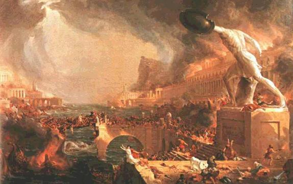 The Fall of Rome and the end of the ancient era