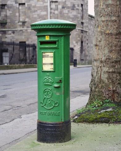 Mailbox in Dublin