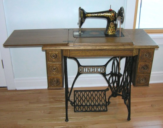 My Treadle Sewing Machine