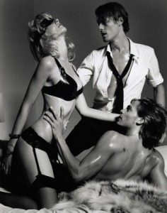 Get your wife to mmf threesome
