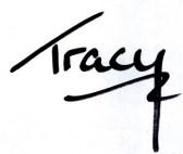 tracy signature