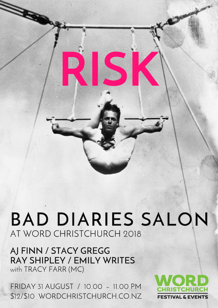 Bad Diaries Salon RISK at WORD Christchurch 2018