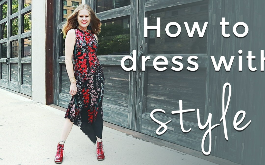 How to dress with style for women over 40 - style tips for women over 40