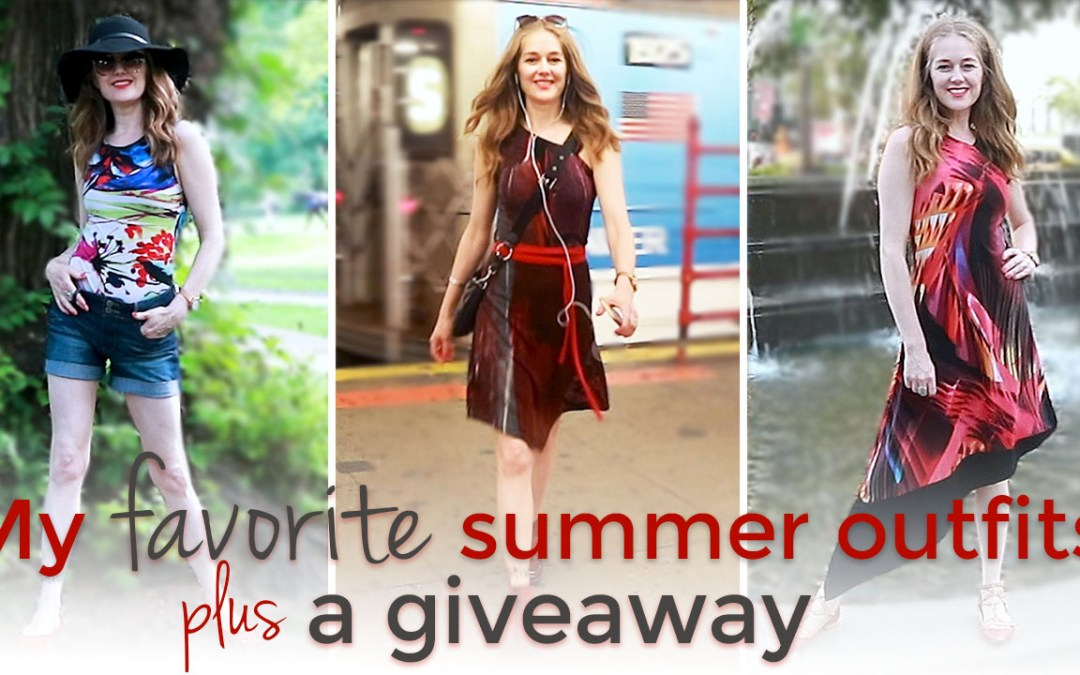 My favorite summer outfits - summer fashion for women over 40