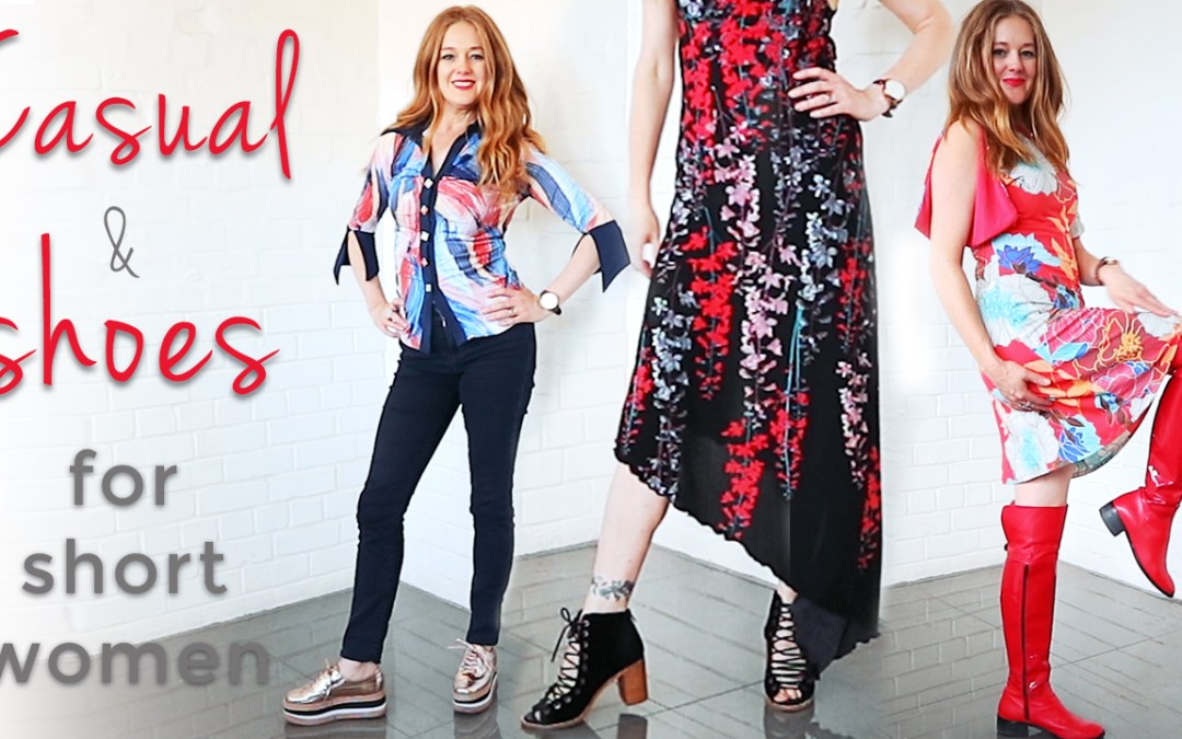 Outfits for short women over 40 - casual outfits and shoes for short women over 40