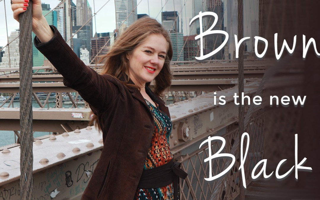 Fall trends for women over 40 - brown is the new black fall trends 2019