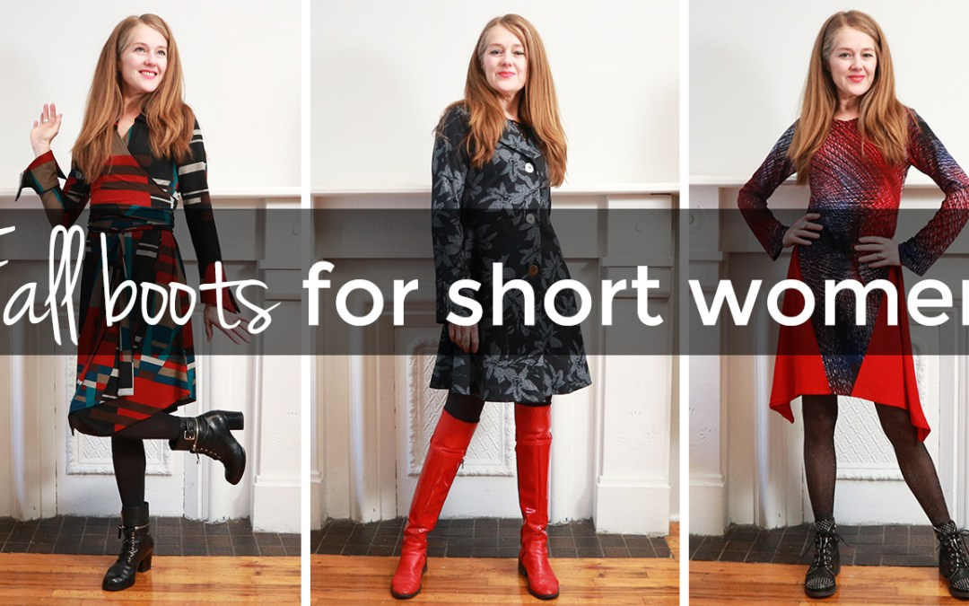 Fall boots for short women - style tips for short women
