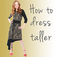Tracy Gold How to dress taller