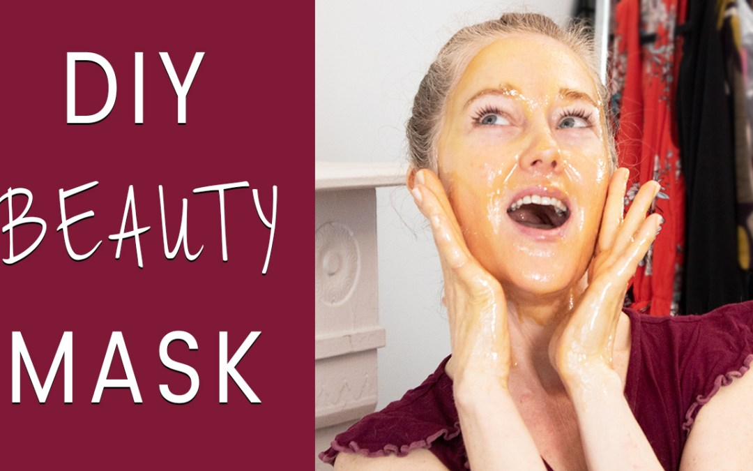 Get Ready With Me for QVC - DIY beauty mask for women over 40