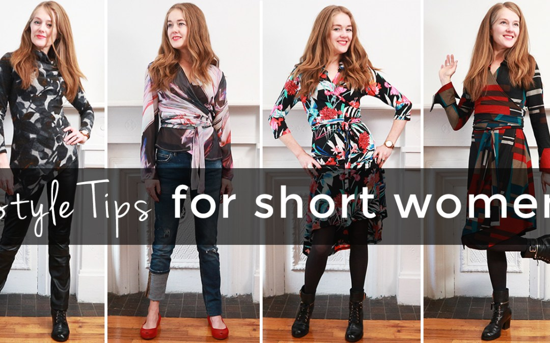 Style tips for short women - how to dress when you are short