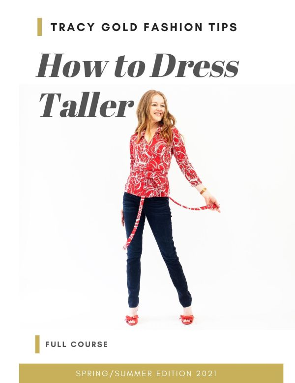 Tracy Gold Fashion Tips - How to Dress Taller Course