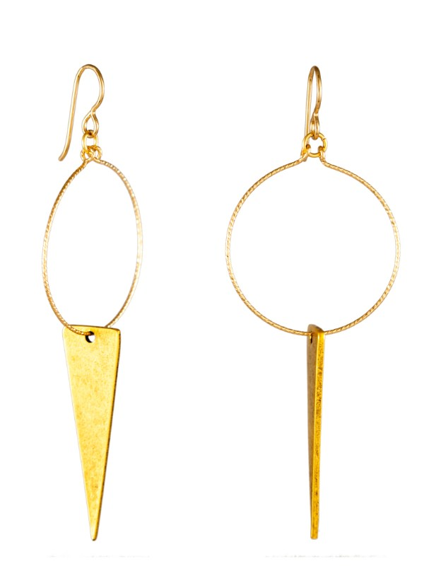 Tracy Gold Illuminate Me Dangle Earrings