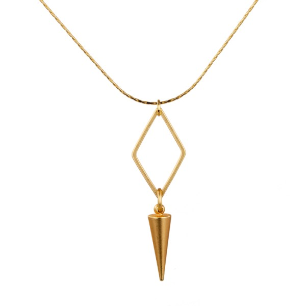 Tracy Gold Curated Illuminated Me Diamond Dowser Necklace