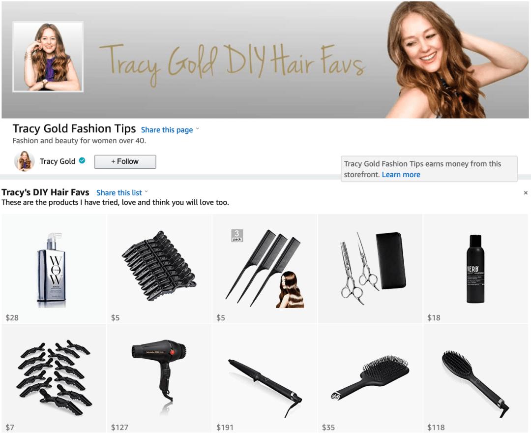 Tracy Gold DIY Hair Favs