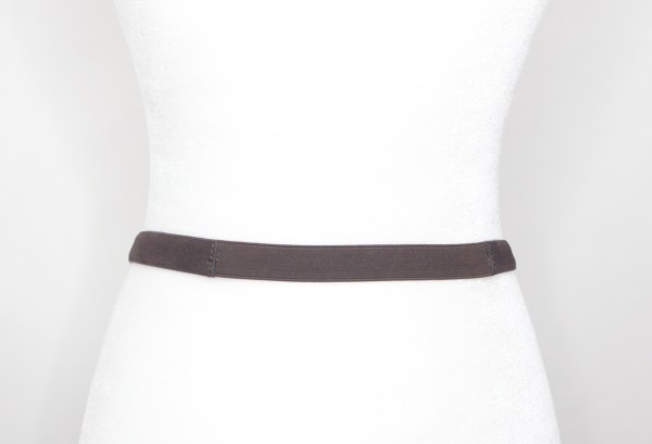 Tracy Gold Thrifted - Suede brown belt