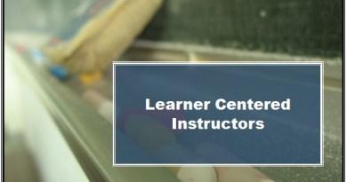 Learner Centered Instructors