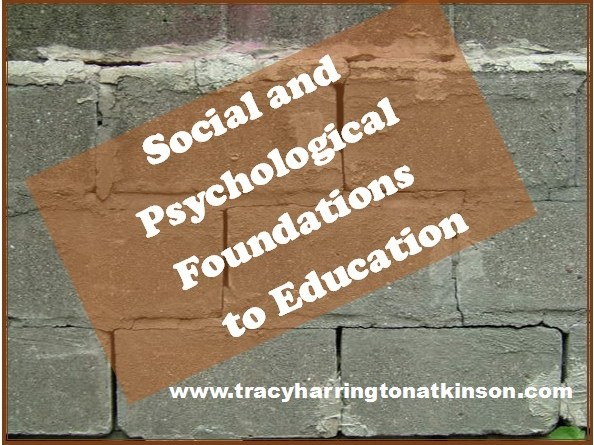 Social and Psych Foundations
