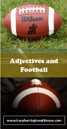 NFL Adjectives Lesson Plan -Free pdf