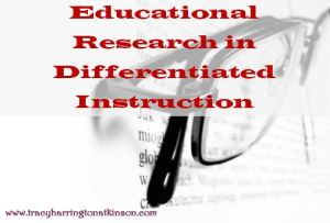 Educational Research in Differentiated Instruction