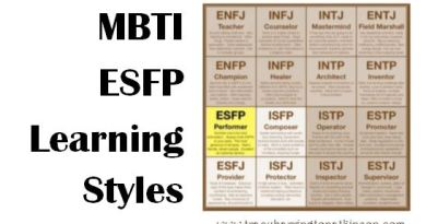 MBTI ESFP (Extraversion, Sensing, Feeling, Perceiving) Learning Styles