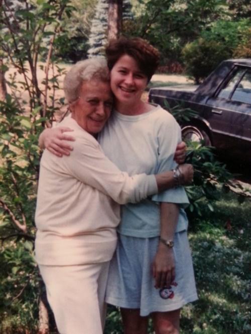 Linda and I around 1990