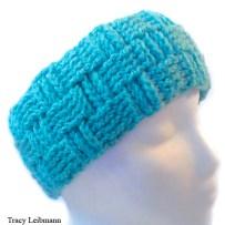 Headband Turquoise Basket Weave $20