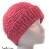 Cloche Beanie Hat Flamingo $34