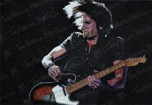 Used To The Pain, Pastel on Paper, 2010 - SOLD
