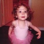 My daughter's first tutu