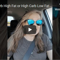 Low Carb High Fat or High Carb Low Fat
