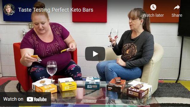 Taste Testing Perfect Keto Bars
