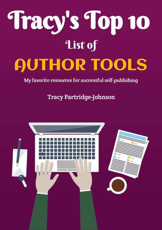 Cover - Tracy's Top 10 List of Author Tools