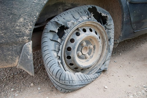 What Do I Do If a Tire Blows Out? | Wichita Auto Care