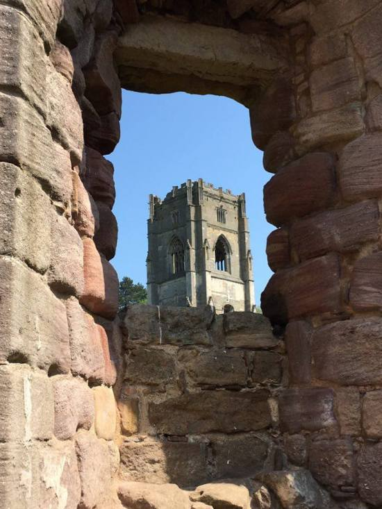 Remains of Fountains Abbey 10