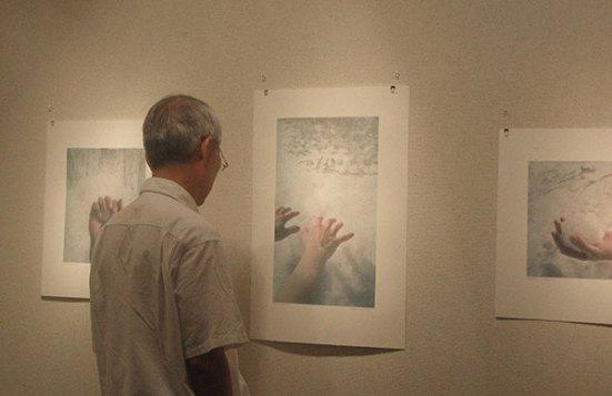 Tetsuya Noda Viewing Work, Gallery Eumeria, Tokyo, Japan