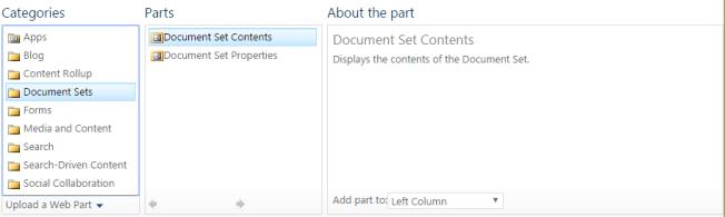 DocumentSets
