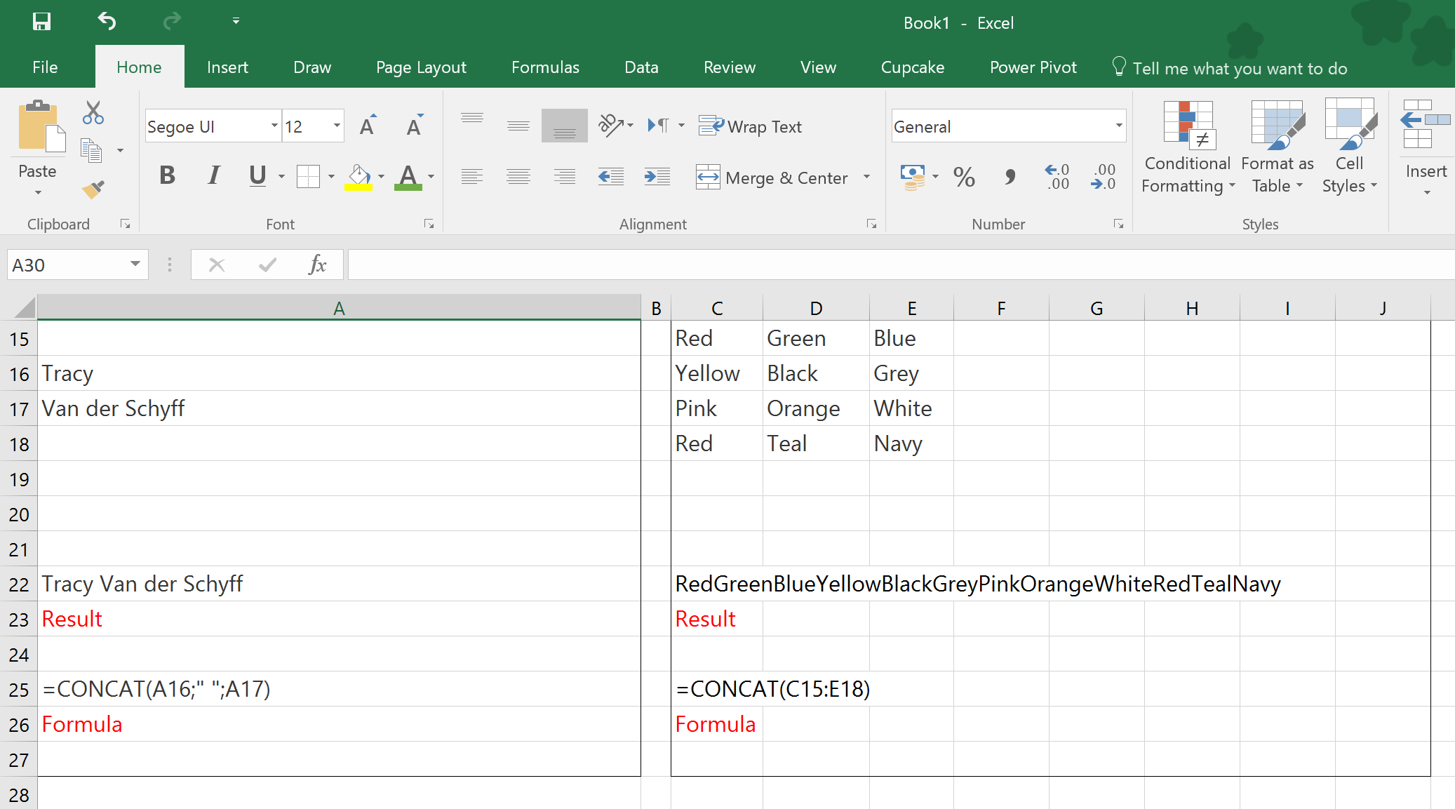 Day 327 Using Concat And Textjoin In Microsoft Excel