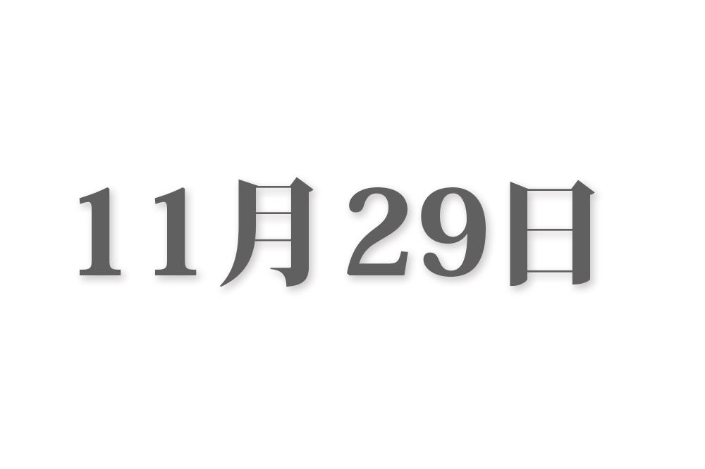 11月29日と言えば? 行事・出来事・記念日|今日の言葉・誕生花・石・星|総まとめ