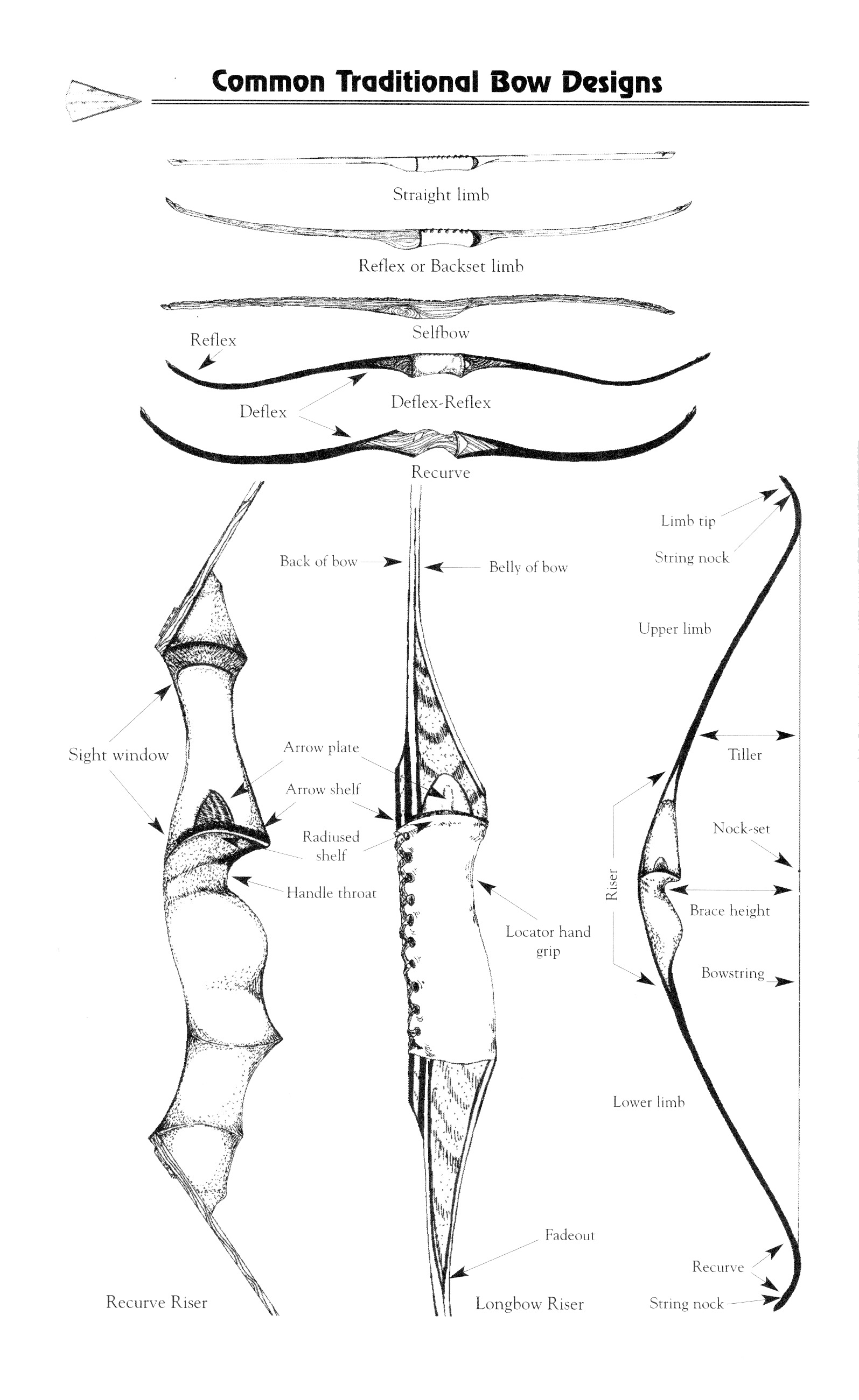 Glossary Of Archery Terms Traditional Bowhunter Magazine