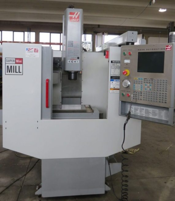 Makinate | Makinews | HAAS Super Mini Mill vertical machining center |