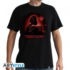 """STAR WARS - Tshirt"" ""DarthVader - Faithö man SS nero - basic"""