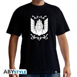 "SAINT SEIYA - Tshirt ""Pegasus"" uomo SS nero - basic"