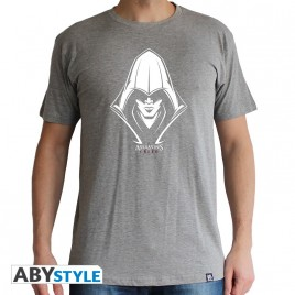 "ASSASSIN'S CREED - Tshirt ""Assassin"" uomo SS sport grigio - basic"
