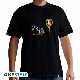 "GAME OF THRONES - Tshirt ""Hand of the King"" uomo SS nero - basic"