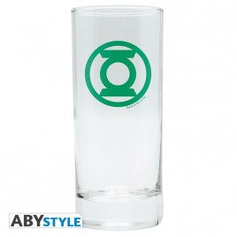 "DC COMICS - Glass ""Green Lantern"" x2"