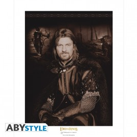 "LORD OF THE RING - Collector Artprint ""BOROMIR"" (50x40)"