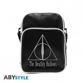 "HARRY POTTER - Messenger Bag ""Hallows"" - Vinyl Small Size - Hook"