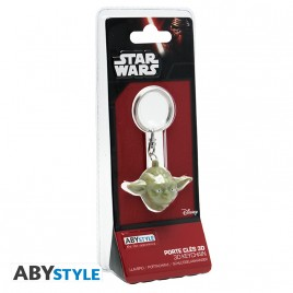 "STAR WARS - Portachiavi 3D ABS ""Yoda"""