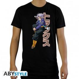 "DRAGON BALL - Tshirt ""DBZ / Trunks"" uomo SS nero - nuova vestibilità"