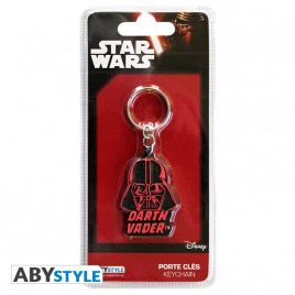 "STAR WARS - Portachiavi in ​​PVC ""Darth Vader"" X4"